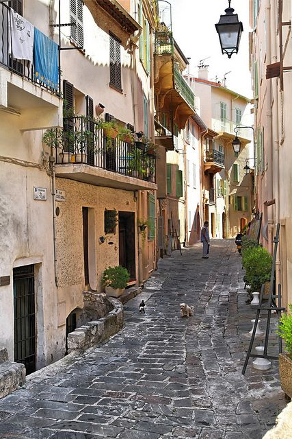 Cannes ~ Hope to walk these streets sometime in the near future.