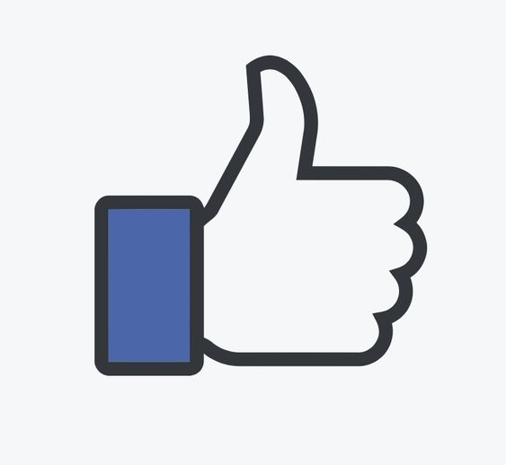 "Facebook ""like"" icon"