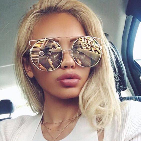オーバーサイズサングラス