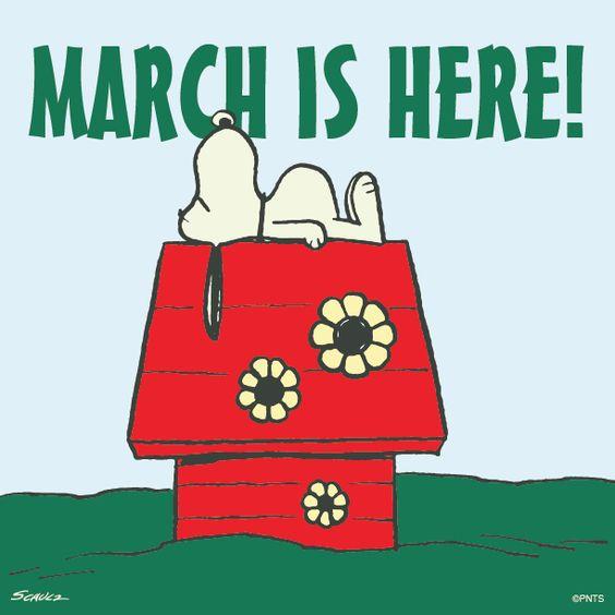 Hello March ... 3b09e782e3450e9744accde0a61eded0