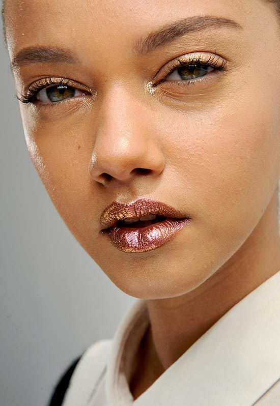 Runway Beauty: Metallic Lips at Christian Dior Fall 2013 Couture | Makeup For LifeMakeup For Life