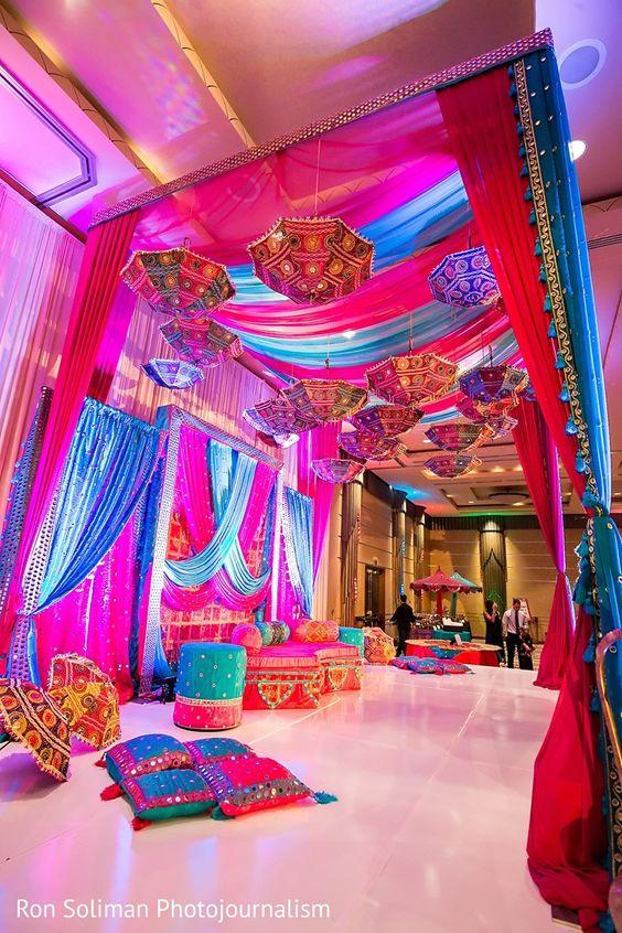 mehendi tent wedding idea and inspiration | ron soliman photos