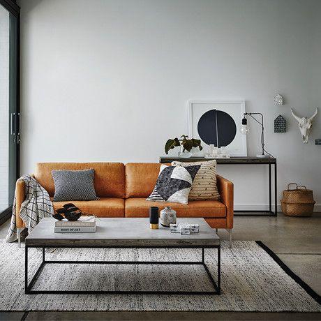 Không gian phòng khách nơi thư giãn và yên bình khi mua sofa da ở đâu