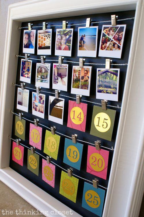 18 unschlagbare Ideen für DIY-Adventskalender