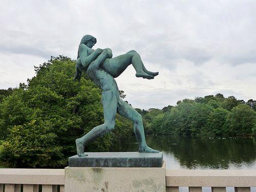 Vigeland Sculpture Park,Oslo,Norway