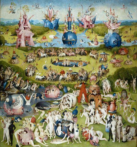 Jeroen Bosch. Tuin der Lusten, 1490