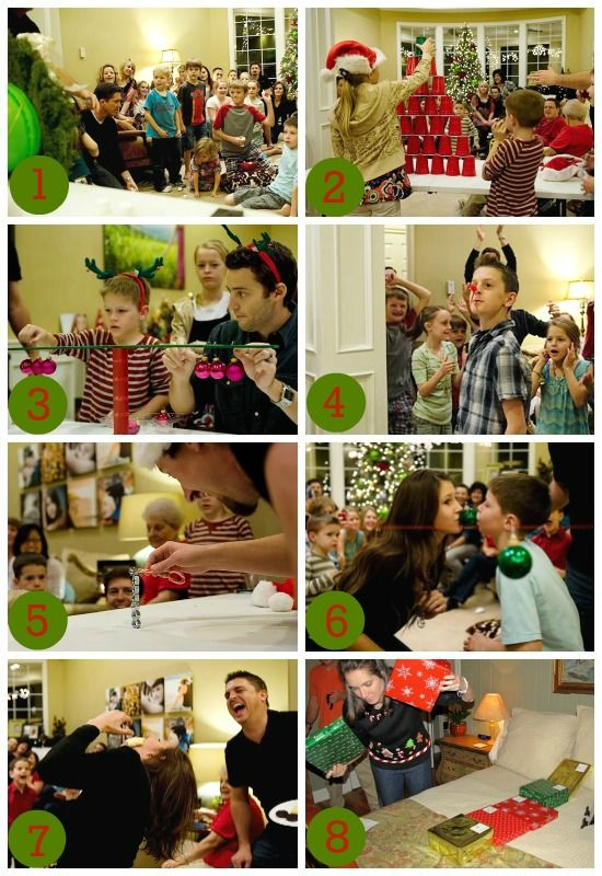 Fun and hilarious Christmas party game ideas!!!