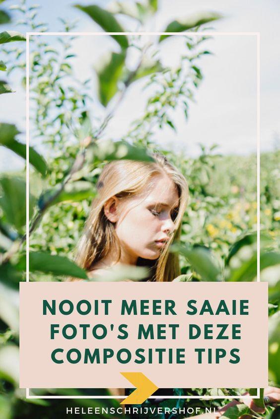 Compositie tips voor mooie foto's