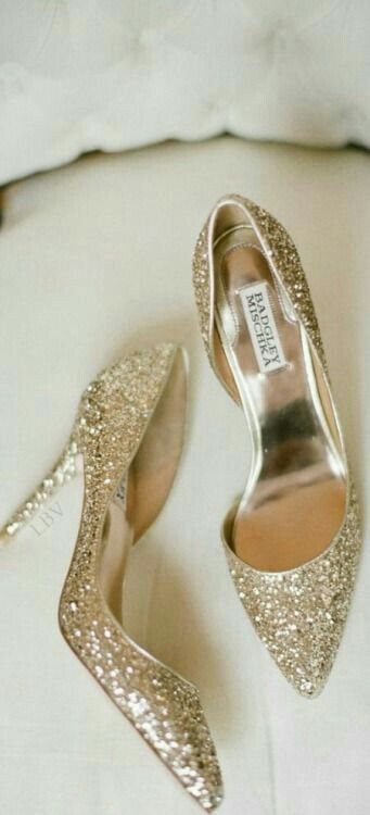 Modest Glitter Shoes