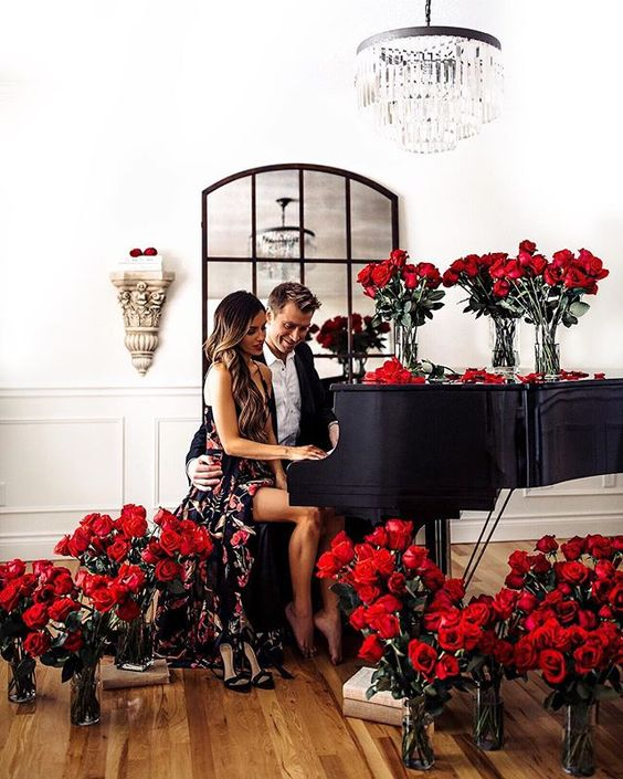 Marry a musician whose genre is romantic piano and youll never be disappointed on Valentines Day.Giving away @officialphilthompsons secrets for the best Valentines Day on  MiaMiaMine.com today (link in my bio). #valentinesday
