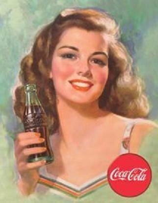 肖像画のようなコカ・コーラ