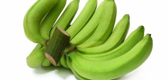 Les bienfaits de la banane verte