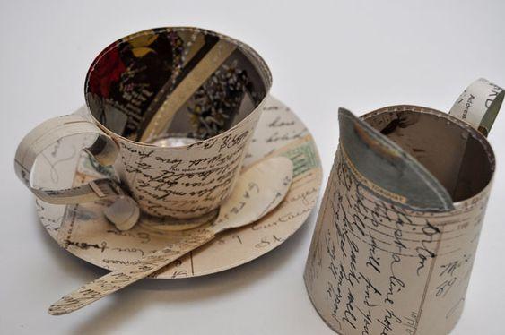 Art объекты из бумаги от Jennifer Collier