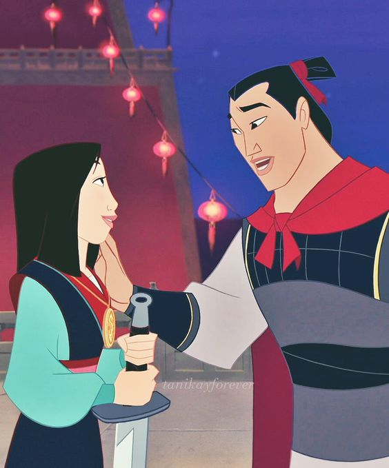 """You fight good."" #Mulan"