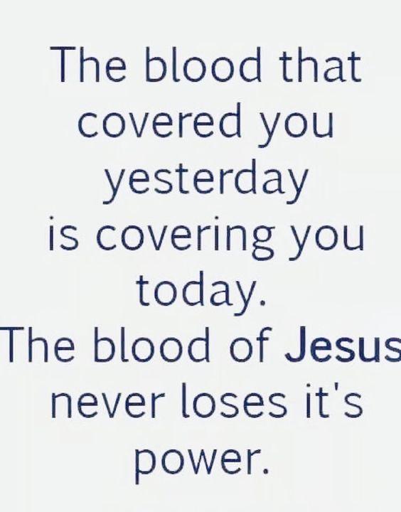 Nothing but the blood - nothing but the blood of Jesus