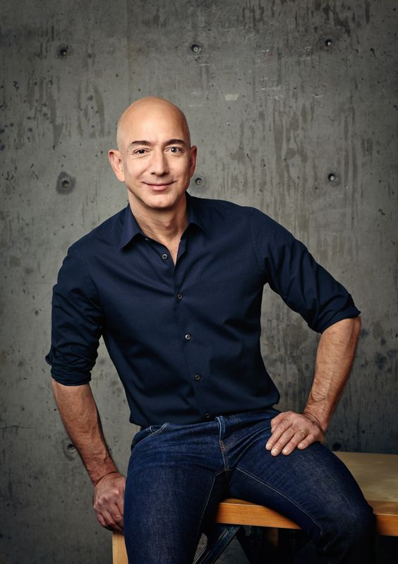 Jeff Bezos -  CEO and Founder, Amazon.com, Successful people, Entrepreneur, Business, #success, #business, #startup, #leadership, #entrepreneur  www.thinkruptor.com
