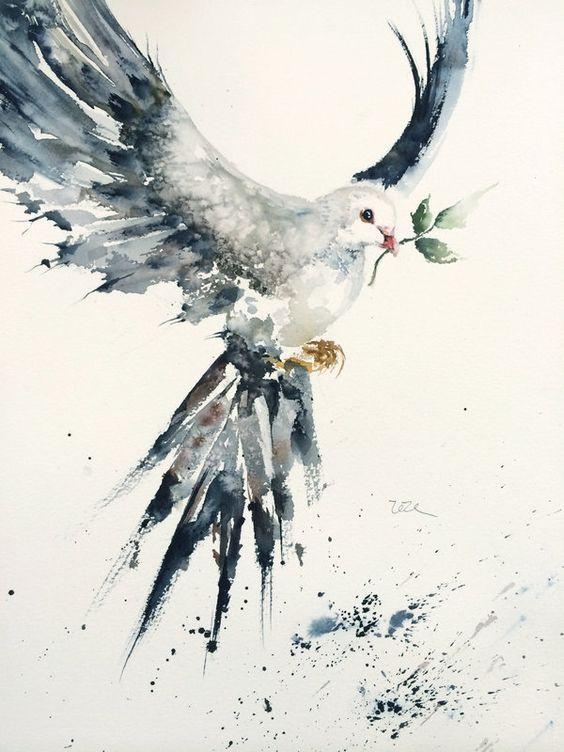 Peace on earth by zezelai.deviantart.com on @deviantART