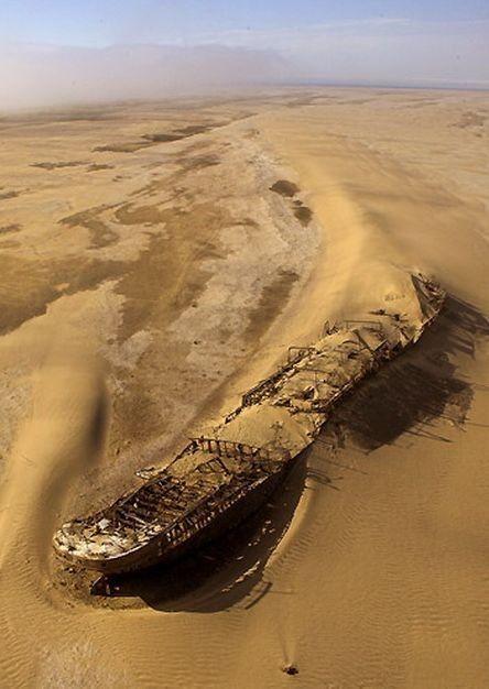 Когда пески жрут корабли.