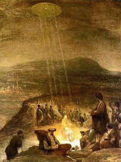 Antike Entdeckung: Alte Gemälde zeigen Alien-Besuch und UFO-Kontakt vor Jahrhunderten | PRAVDA TV – Lebe die Rebellion