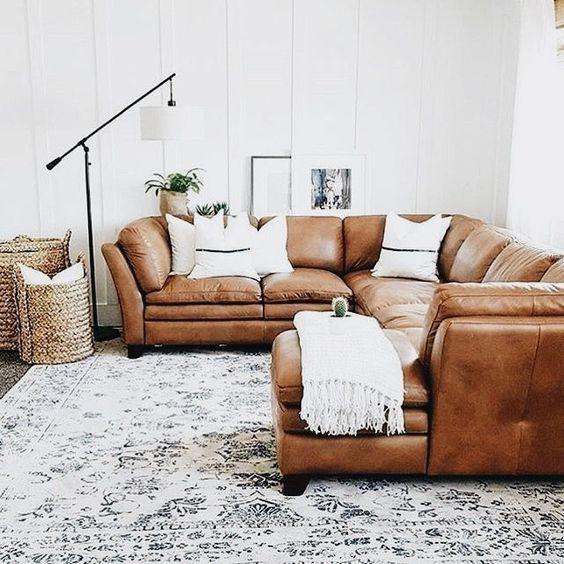 Những mẫu sofa da thật tphcm dạng góc hiện đại, tiện ích