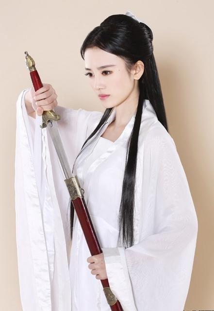 """""""中国第一美女""""扮小龙女 自称姑姑呼唤杨过(图)   www.wenxuecity.com"""