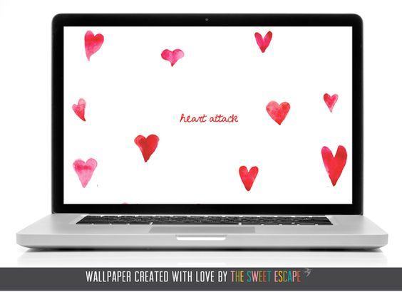 {PRETTY TECH: not so sweet valentine desktops} | The Sweet Escape