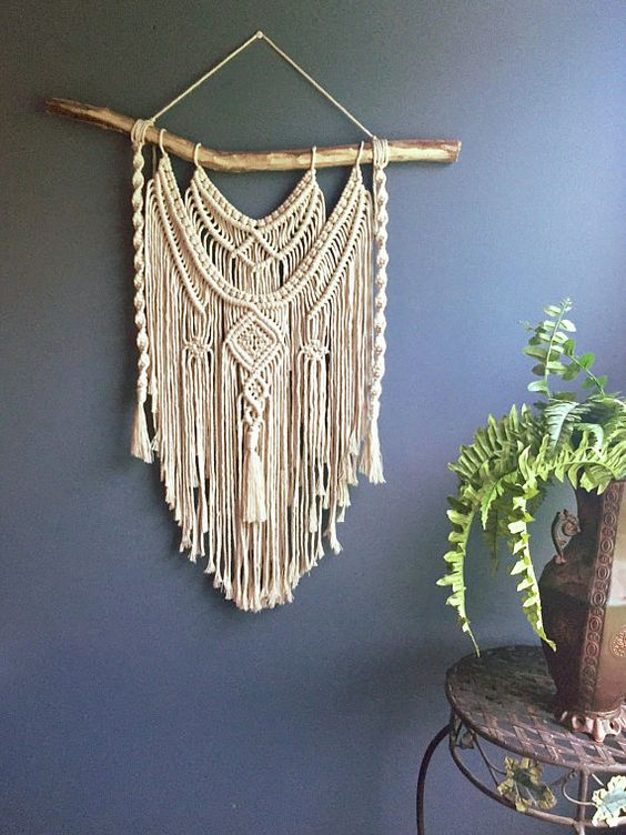Large macrame wall hanging/ woven wall hanging/ Boho wall
