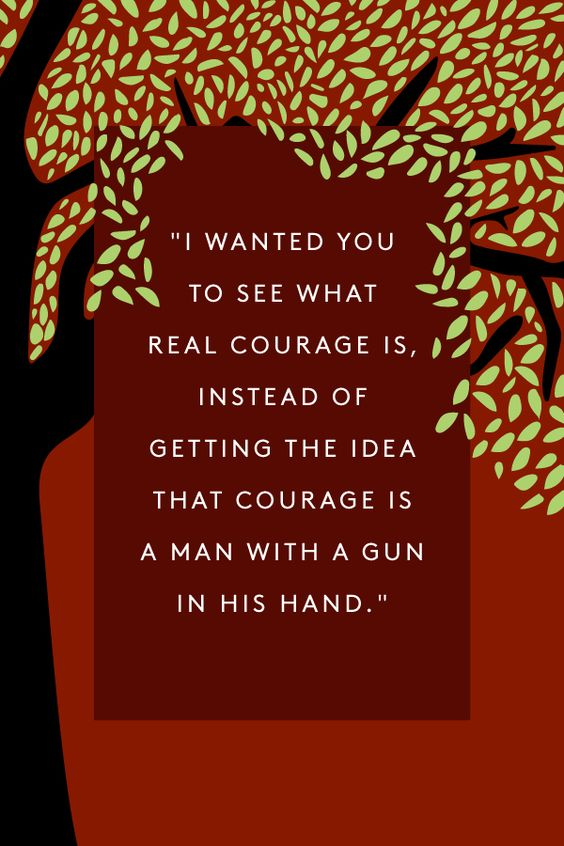 "My favorite quotation from my favorite book! ""To Kill A Mockingbird"" -- And to think, Harper Lee is publishing her second novel!!"