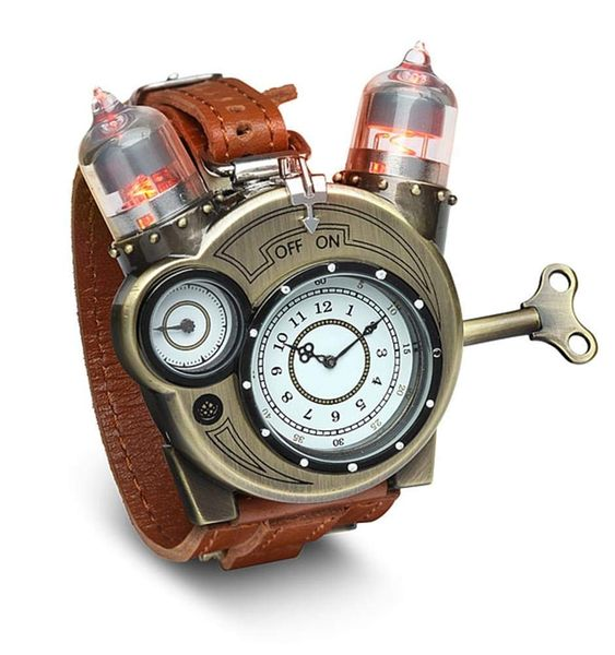 A steam-punk watch-16 Nerdy gifts to surprise him - TodayWeDate.com