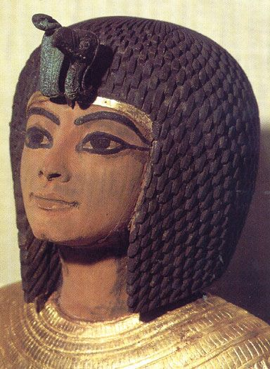 Ankhesenamon -- A daughter of Akhenaten & Queen Nefertiti  (reign: 1353–1335 BCE)