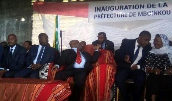 Inauguration de la préfecture de Mboinkou