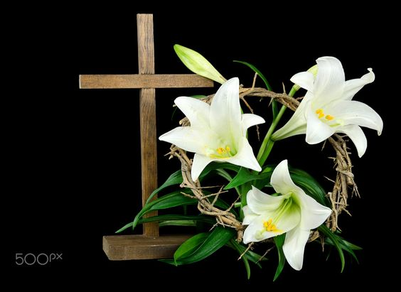 Easter cross with lilis by Maria Dryfhout on 500px
