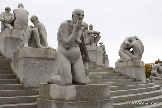 Vigeland Park - O que fazer em Oslo