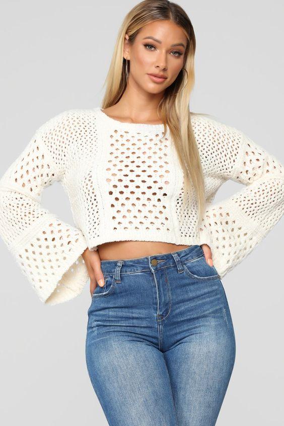 Fashionable Crop Shirts