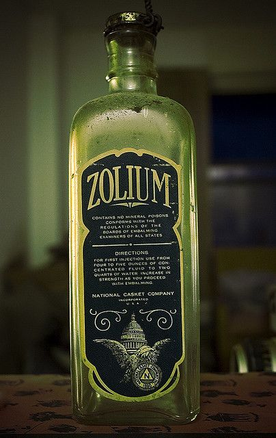 Embalming Bottle