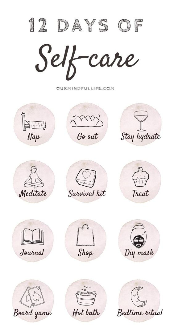12 Days Of Self-care - Cultivate self-love during Christmas - Our Mindful Life  self care routine/self care to-do list/self care products/ self care tips/ winter self care/ holiday self care/ Christmas self care/ holiday depression/ skin self care/self care kit/mind body green/self care list/advent calendar/countdown ideas/ Christmas countdown/12 days of Christmas/self-love/self-care survival kit