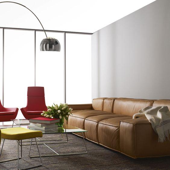 Xu hướng thiết kế trang trí phòng khách với sofa da tphcm