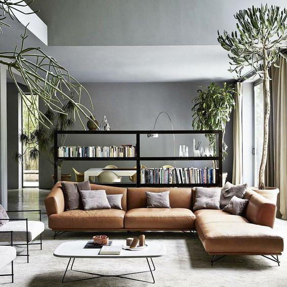 Sofa da thật tphcm tạo không gian ấm cúng và thư giãn