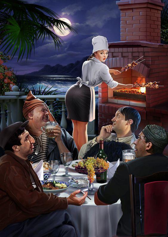Просмотреть иллюстрацию Иллюстрация для настенного календаря из сообщества русскоязычных художников автора Наталия Е. в стилях: Реализм, нарисованная техниками: Компьютерная графика.