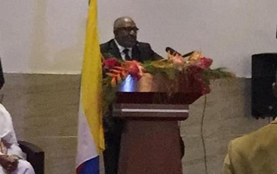Discours du putschiste AZALI Assoumani, Président de l'Union des Comores