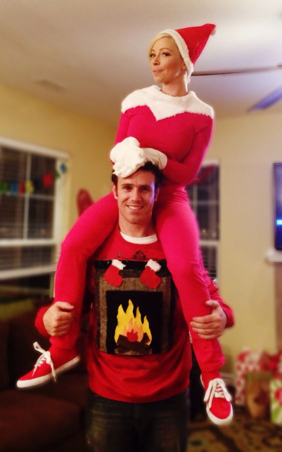 33 Hideous And Fun Christmas Matching Ugly Sweater Ideas