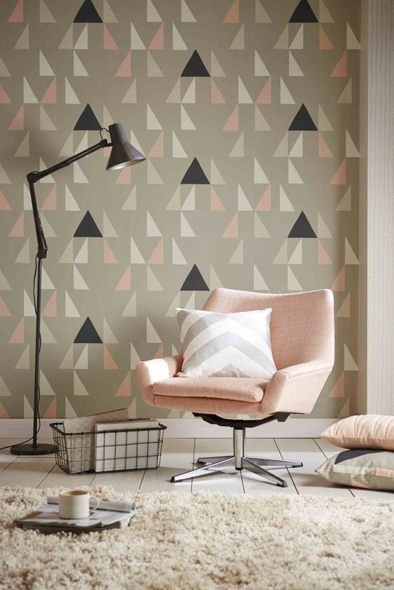 Gorgeous wallpaper design called Modul by Scion.