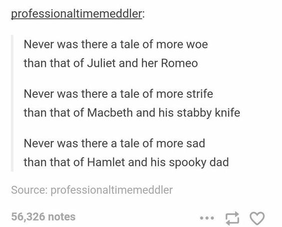 23 Jokes And Memes About Shakespeare Plays That'll Make Smart People Laugh