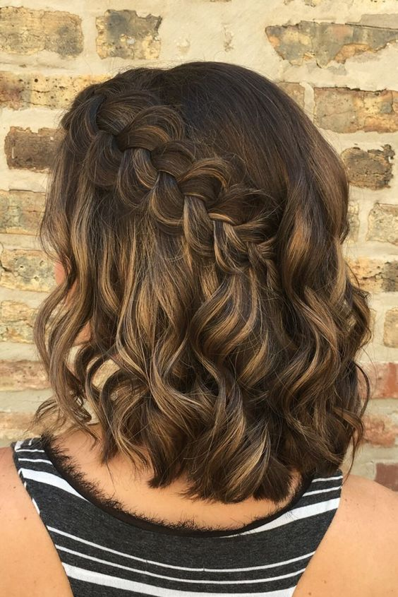 30 Excellent Photo of Braids Wedding Hairstyles For Short Hair, Perhaps you find it really tough to increase your hair and just need to determine if longer hair suits you. It is fine to make the bangs, but you shou...