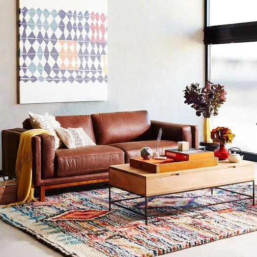 Sofa da tphcm và ý tưởng cho phòng khách cá tính