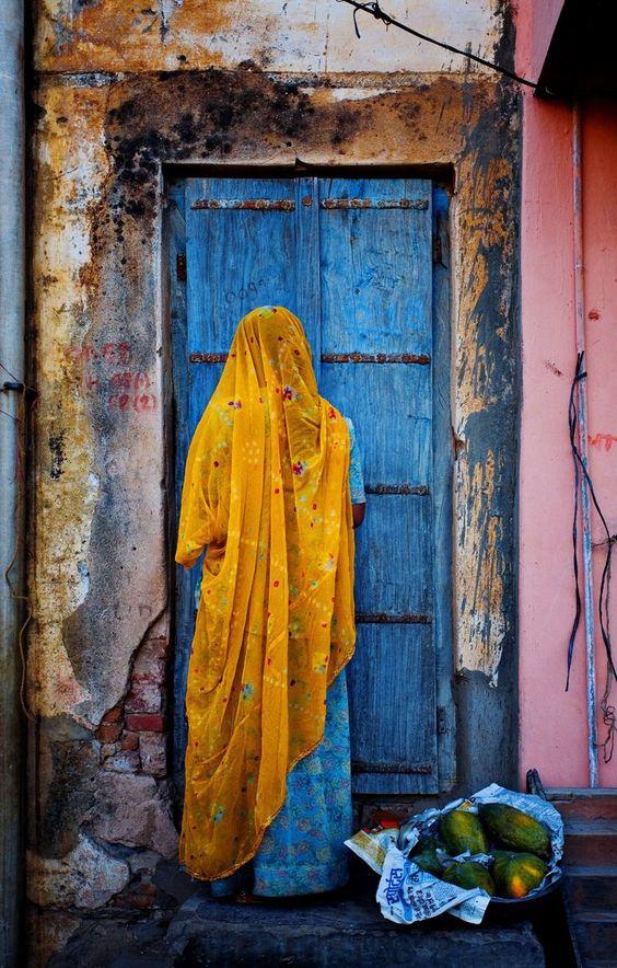 India Woman - Adam Rose Photography
