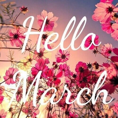 Hello March ... 9a9d8aa90098982d9fd0df543f5f5aeb