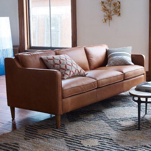 Sofa da tphcm trang trí phòng khách đẹp, hiện đại