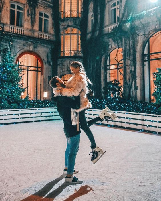 Ice-skating - 17 non-cheesy winter date ideas for when it's cold outside - Todaywedate.com