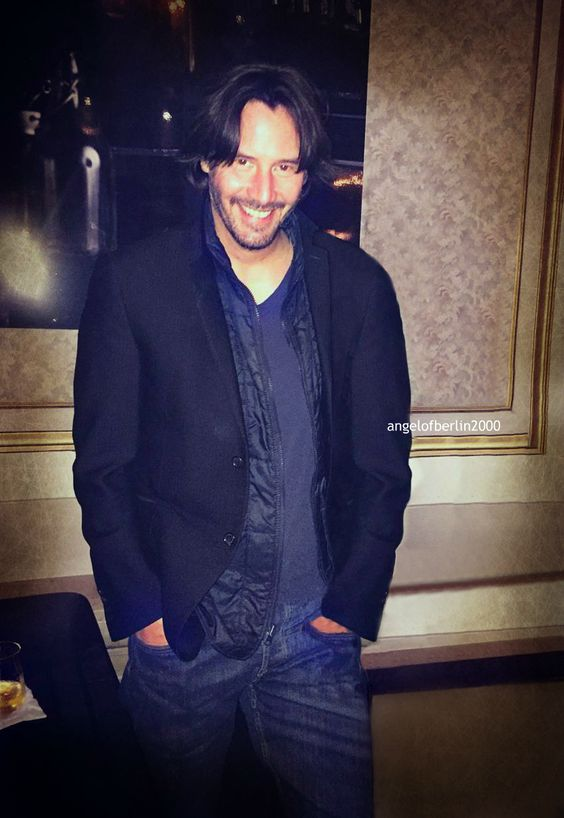 Keanu at the Fort Garry Hotel, Winnipeg May 13 2017  ""
